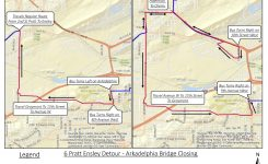 MAX Bus Route Adjusted for Bridge Construction