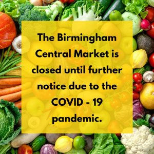 Birmingham Central Market is closed